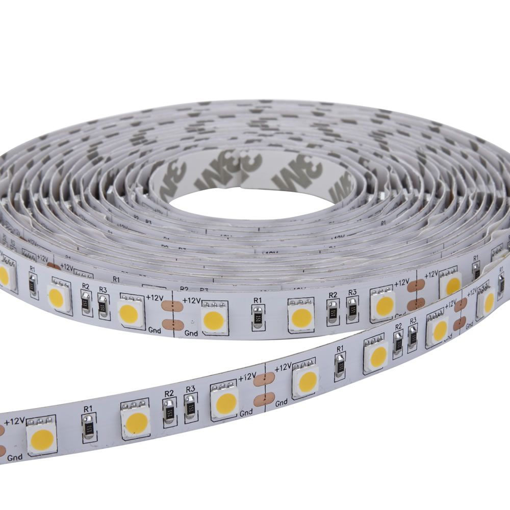 Tira de Luces LED 5050 de 5 Metros Blanco Ultra Frio