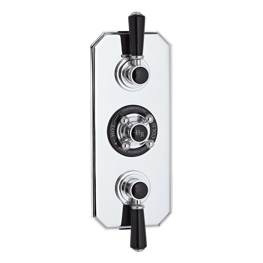Mezclador de Ducha Termostático Tradicional de Tres Funciones con Desviador - Topaz