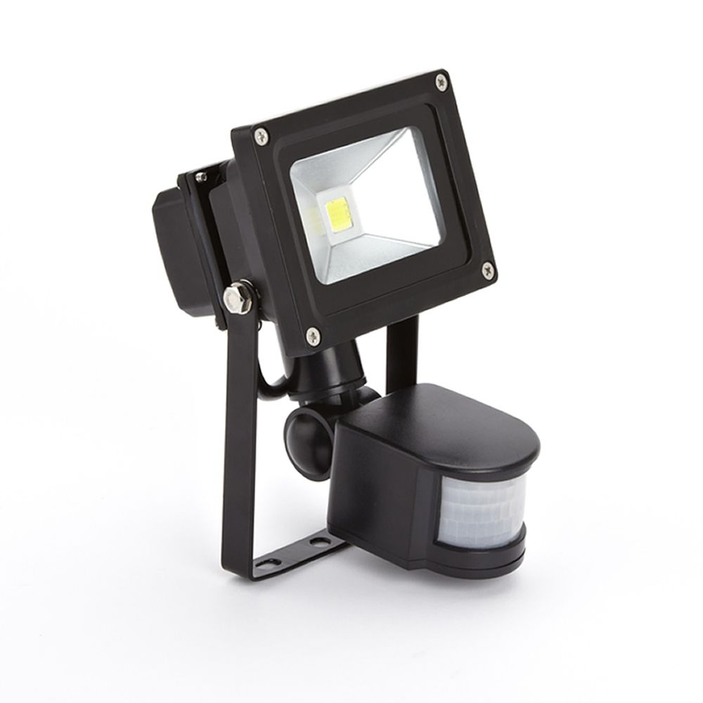 Foco Faro Proyector Compacto LED 10W con Sensor de Movimiento