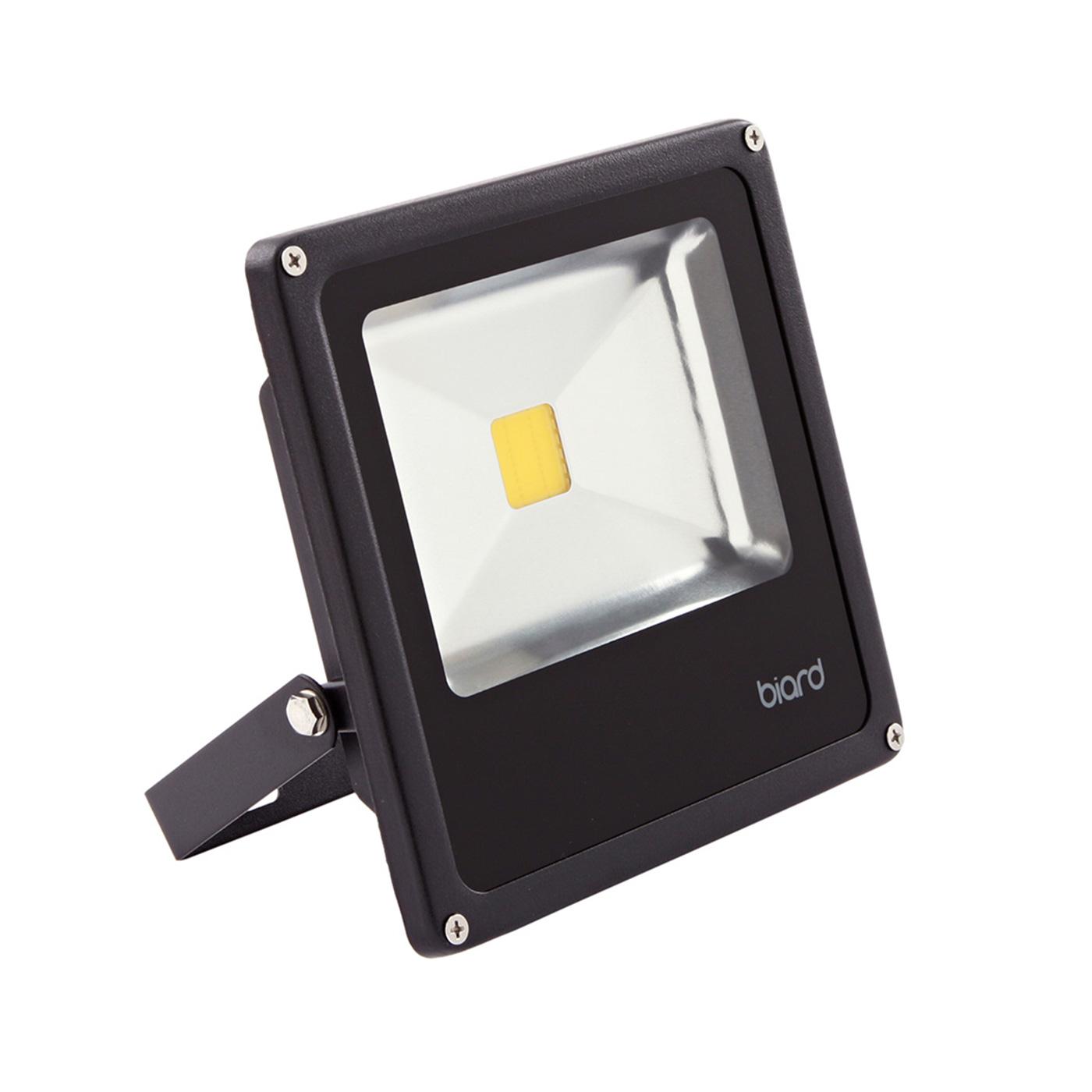 Foco Faro Proyector Compacto LED 20W con Estructura de Color Negro