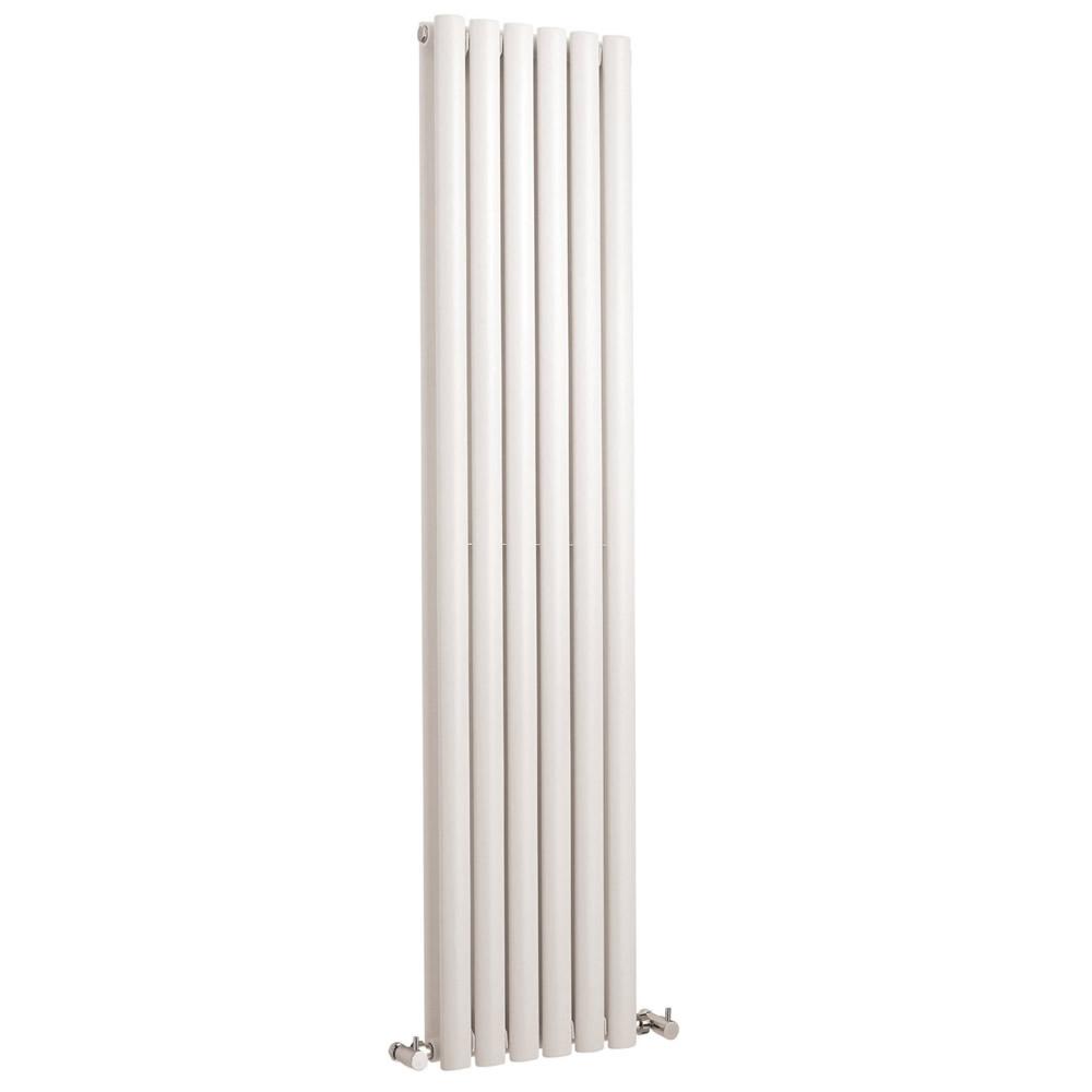 Radiador de Diseño Vertical Doble - Blanco - 1500mm x 354mm x 105mm - 1512 Vatios - Revive