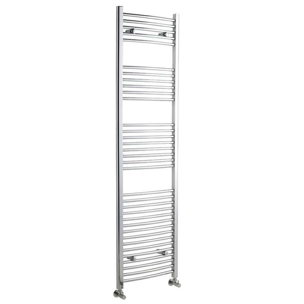 Radiador Toallero Curvo - Cromado - 1800mm x 500mm x 42mm - 669 Vatios - Ladder