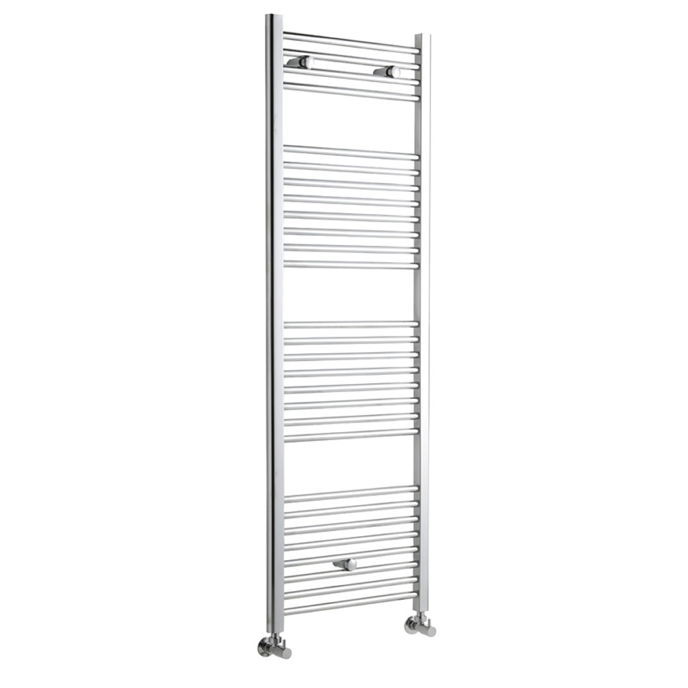 Radiador Toallero Curvo - Cromado - 1500mm x 500mm x 75mm - 455 Vatios - Ladder