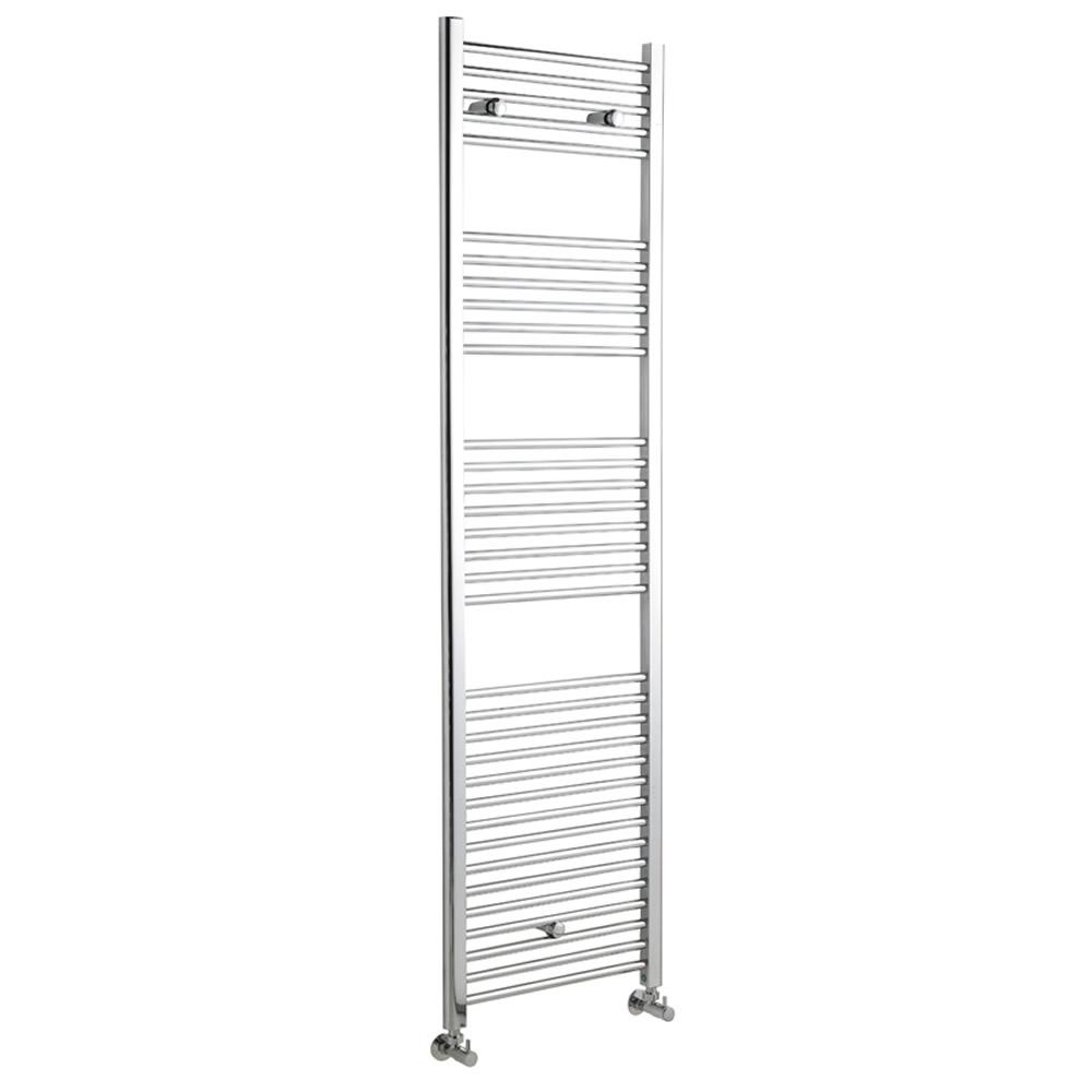 Radiador Toallero Curvo - Cromado - 1800mm x 500mm x 75mm - 678 Vatios - Ladder