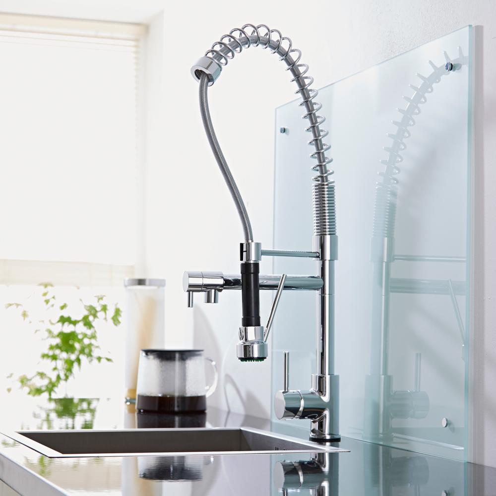 grifo mezclador de fregadero para cocina con ducha