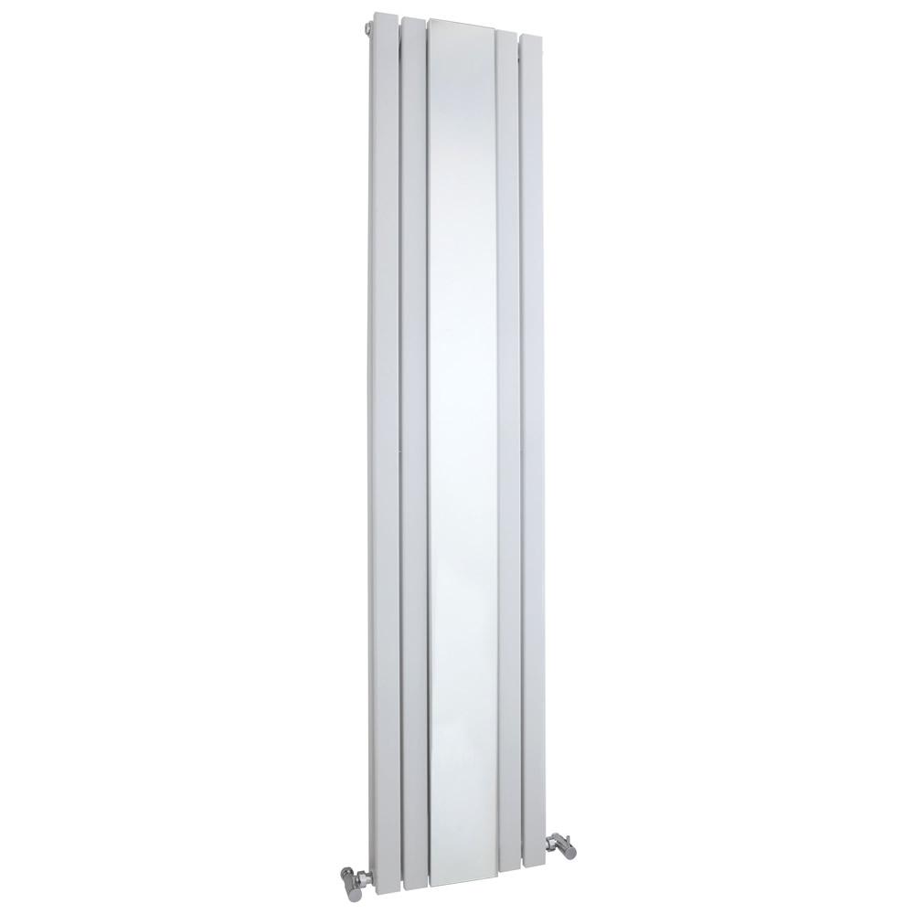 Radiador de Diseño Vertical Doble - Blanco - 1800mm x 381mm x 130mm - 1696 Vatios - Sloane