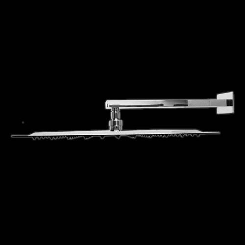 Alcachofa de Ducha Extraplana Cuadrada 400 x 400mm con Brazo - Slimline