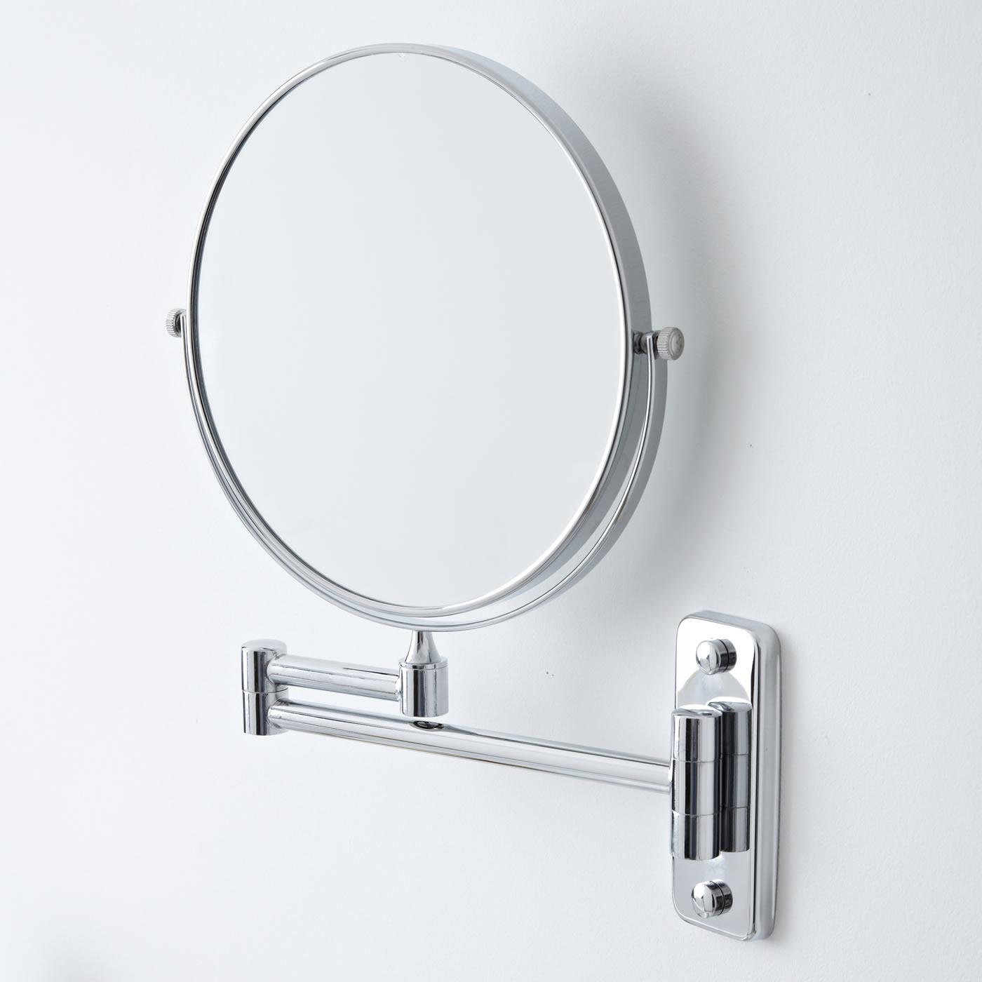 Espejo de Aumento Ajustable con Cara Posterior