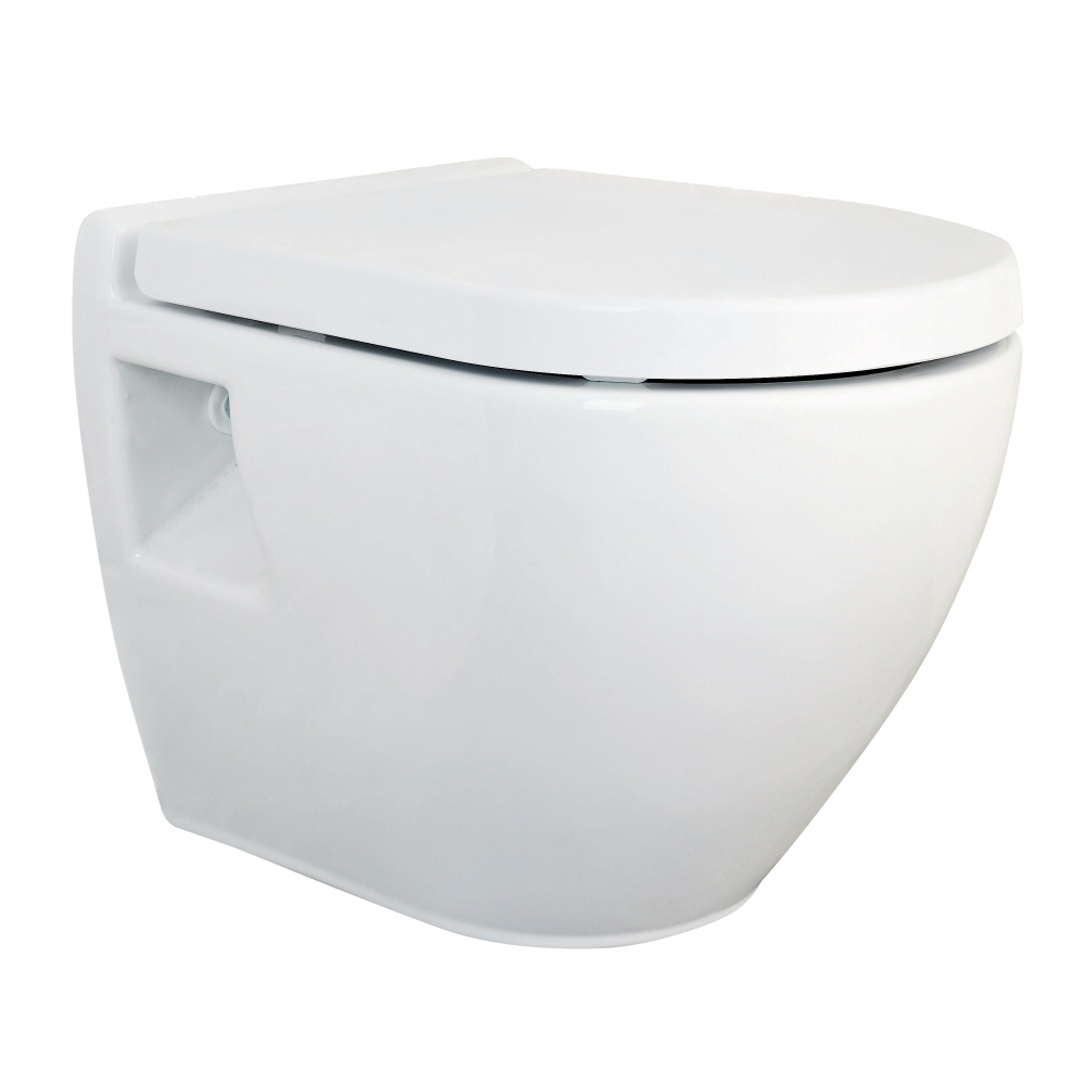 Inodoro WC de Pared con Tapa