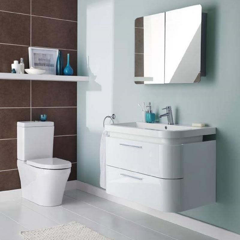 Espejo con Armario de Baño  600 x 800 x 120mm