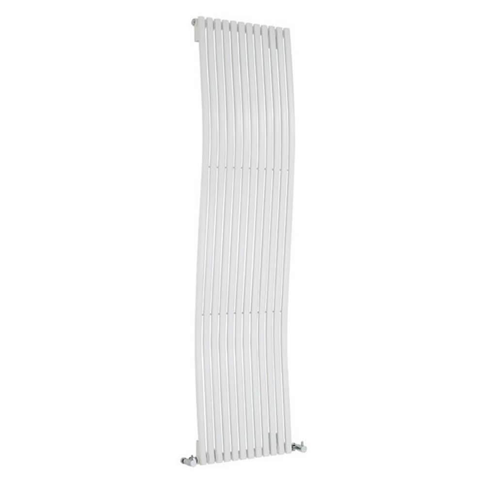 Radiador de Diseño Vertical - Blanco - 1600mm x 460mm x 90mm - 1185 Vatios - Ola