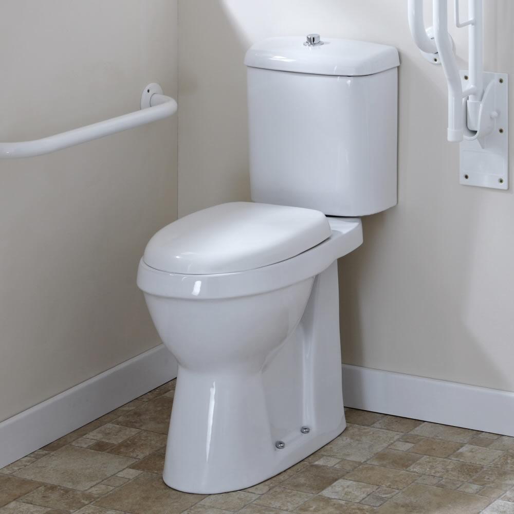 Pack de wc con inodoro y cisterna con salida horizontal for Wc sin instalacion