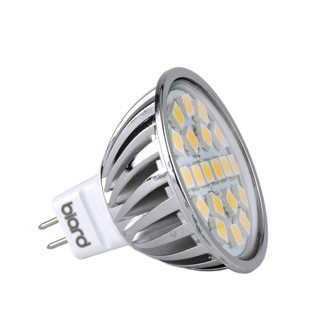 Foco LED MR16 4W Ángulo de 120° Equivalente a 50W