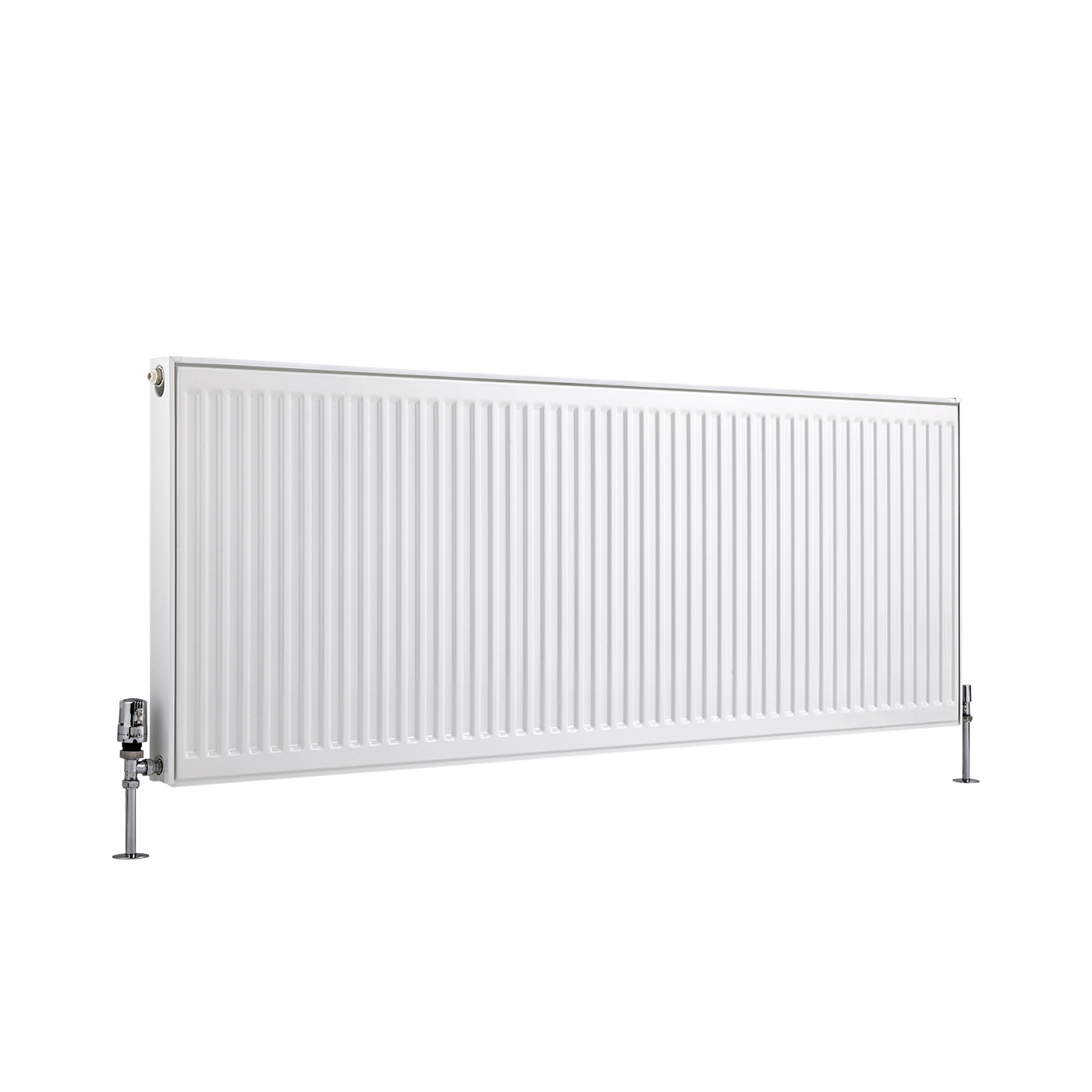 Radiador Convector Horizontal - Blanco - 600mm x 1600mm x 50mm - 1482 Vatios - Eco