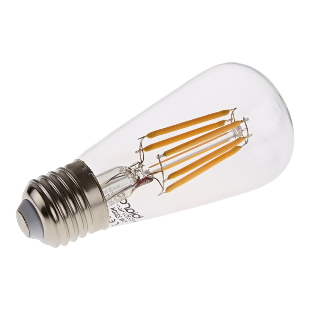 Bombilla LED Tradicional E27 con Filamentos 6W