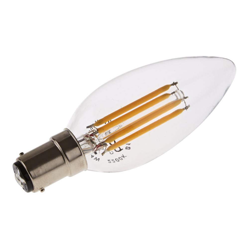 Bombilla LED Tradicional B15 con Filamentos 4W