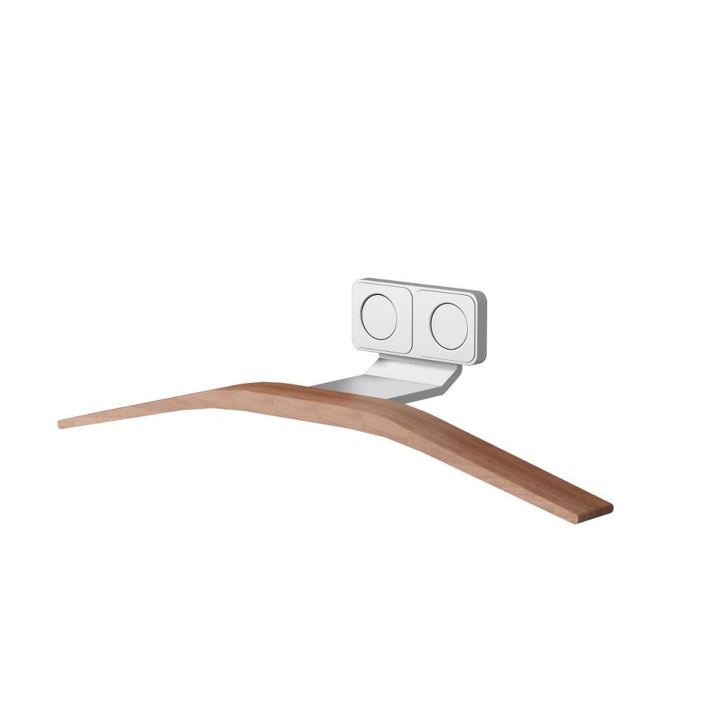 Colgador Perchero Para Radiadores con Efecto Teca Para Radiadores Toallero de Diseño - Hanger