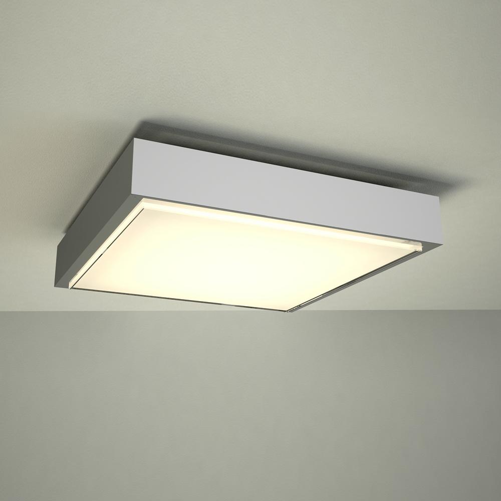 Plafón de Techo LED Cuadrado para Cuarto de Baño Ø280 - Zell