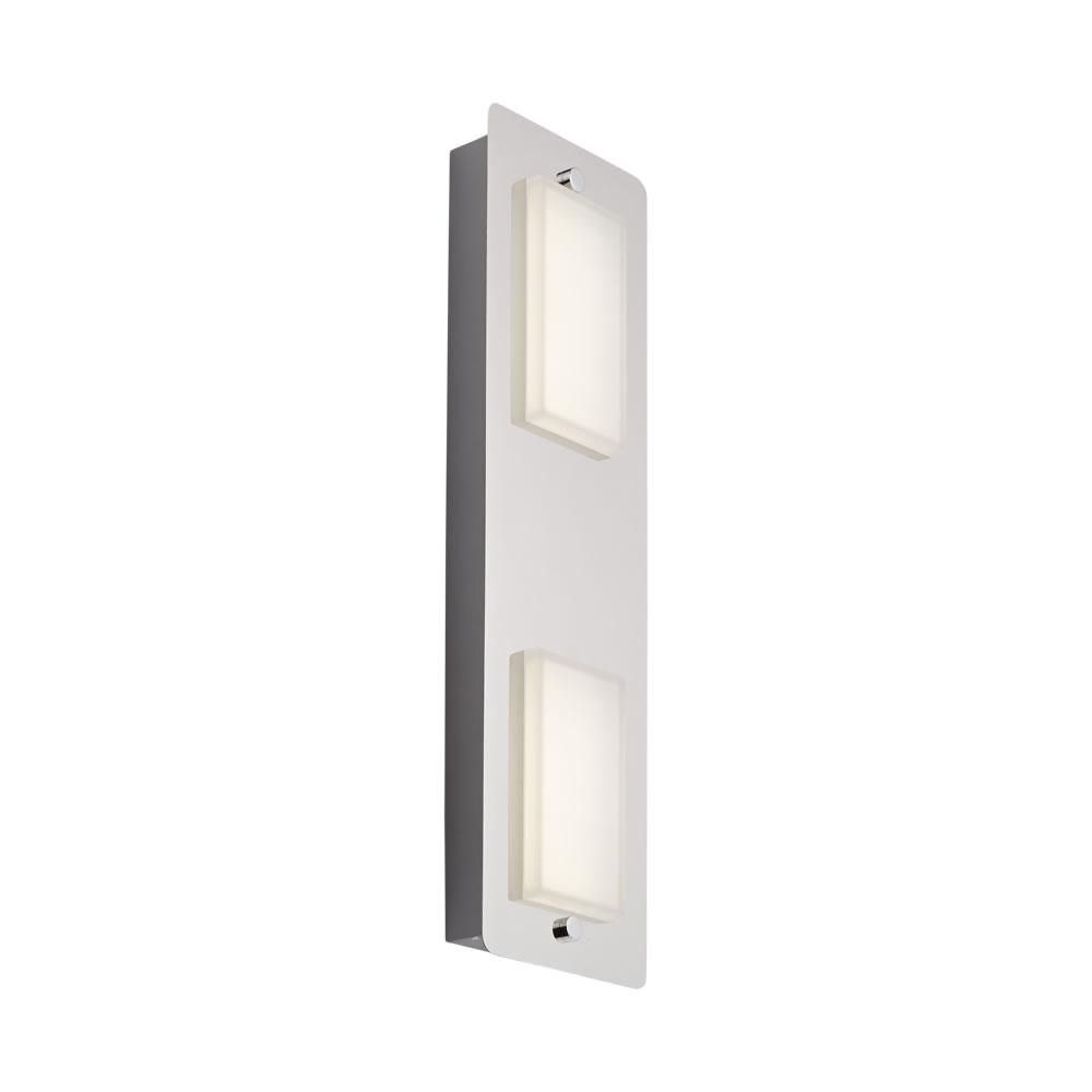 Luminaria de Techo con 2 Focos para Baño LED 9W - Glacier