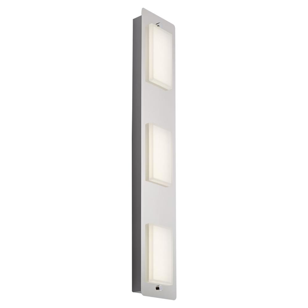 Luminaria de techo con 3 focos para ba o led 13w glacier for Focos bano