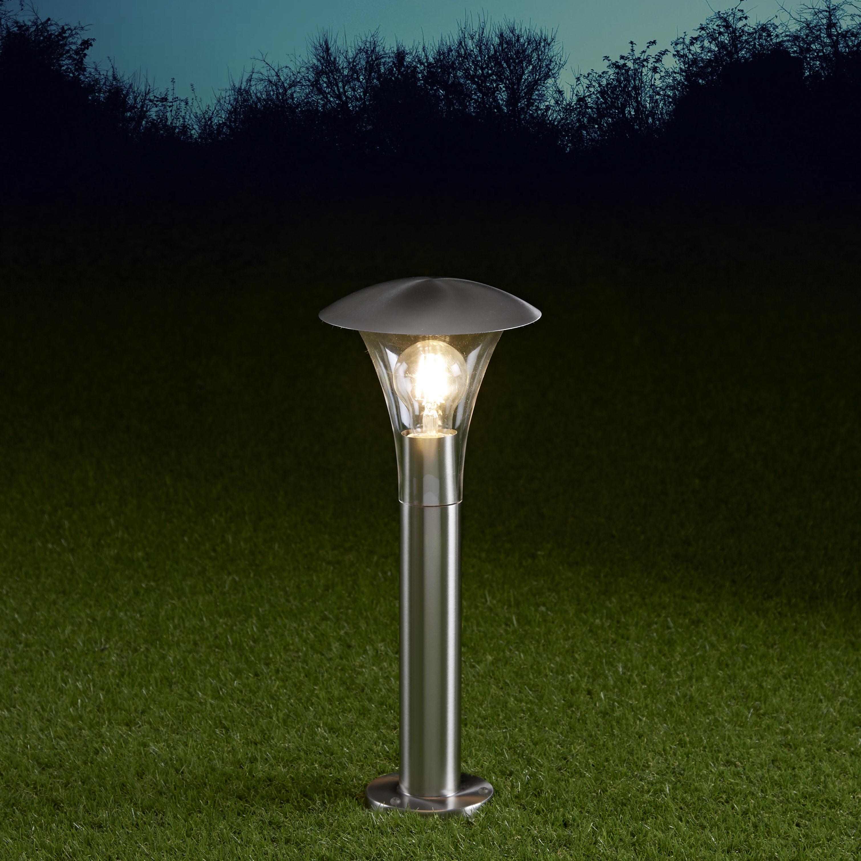 Baliza LED de 450mm para Exteriores de Acero Inoxidable - Cholet
