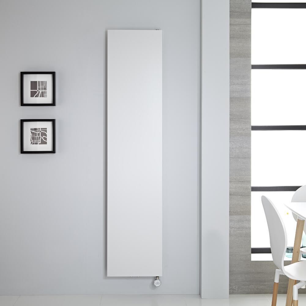 Radiador de Diseño Eléctrico Vertical - Blanco - 1800mm x 400mm - Rubi
