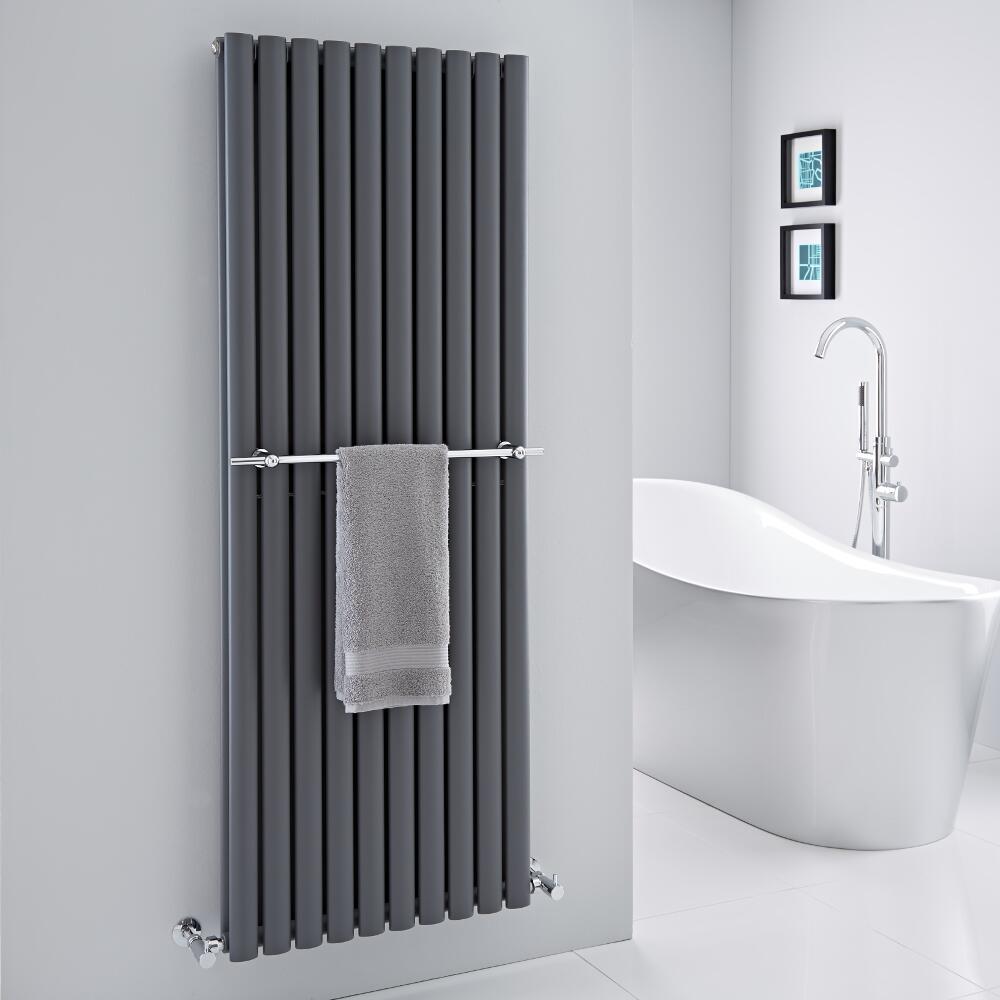 Barra Porta toallas para Radiadores Verticales Revive y Delta de 590mm