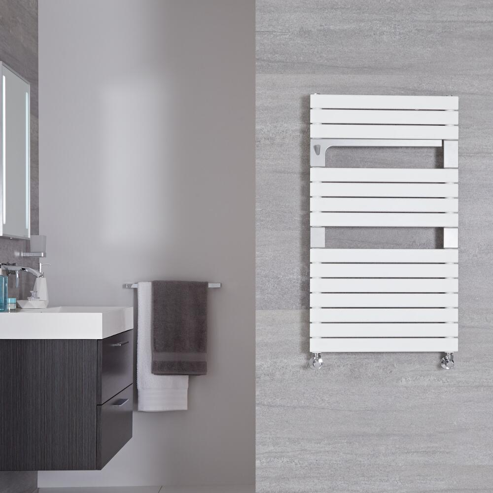 Radiador Toallero de Diseño Vertical - Blanco - 952mm x 550mm - 702Vatios - Seina