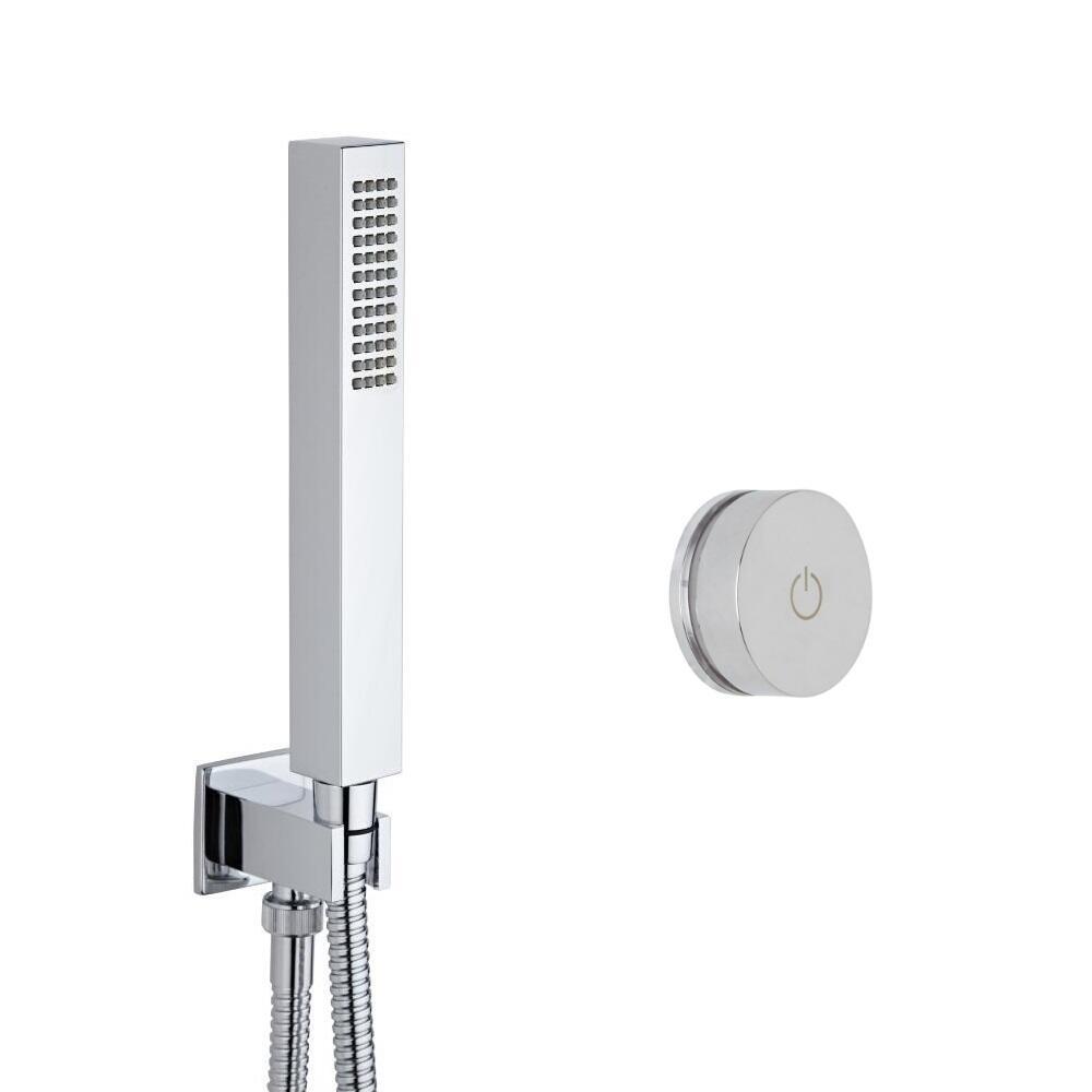 Ducha Digital con Sistema de Control de 1 Salida con Ducha de Mano Cuadrada - Narus