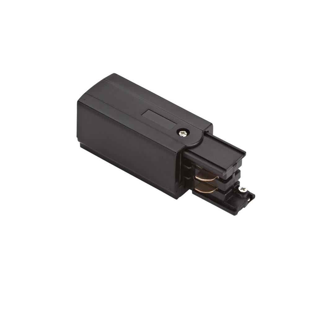Conector de Alimentación Para Sistemas de 3 Circuitos. - Negro