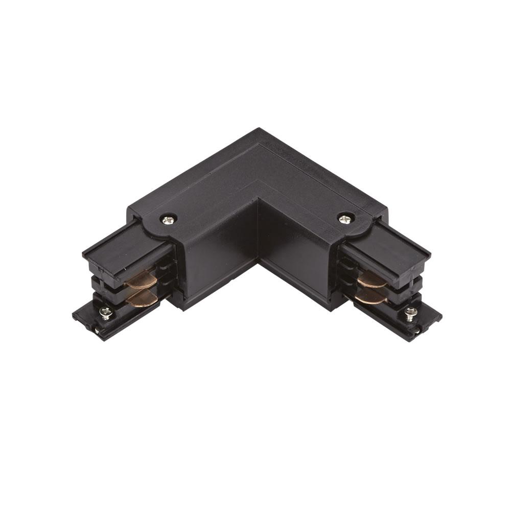 Conector de Alimentación L Para Sistemas de 1 Circuito - Negro
