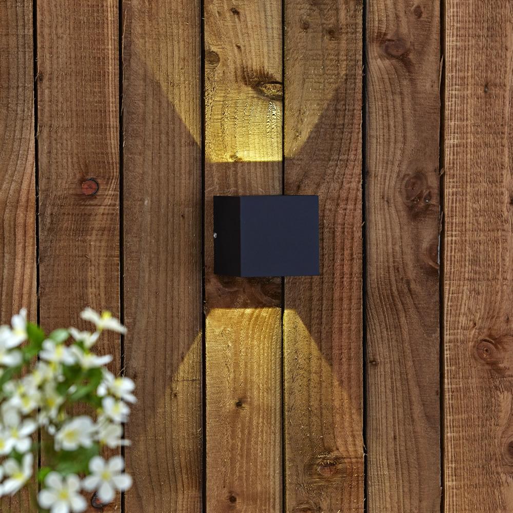 Biard Apliqué de Pared Exterior Bidireccional LED 6W - Prism