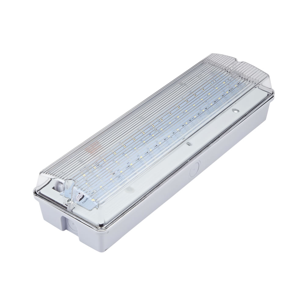 Biard Luz de Emergencia LED Rectangular de 7,5W