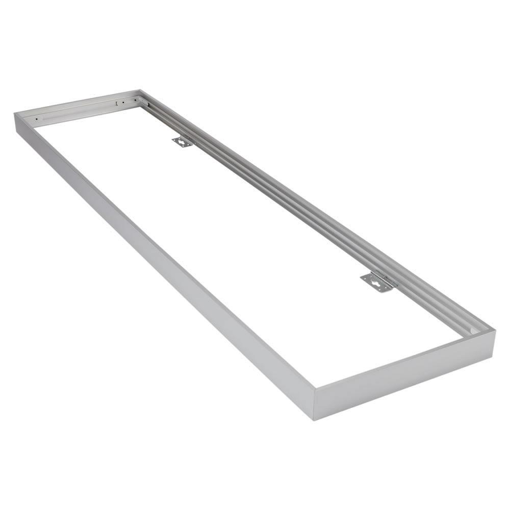 Estructura para Paneles LED de Techo 1200 x300mm Color Plateado