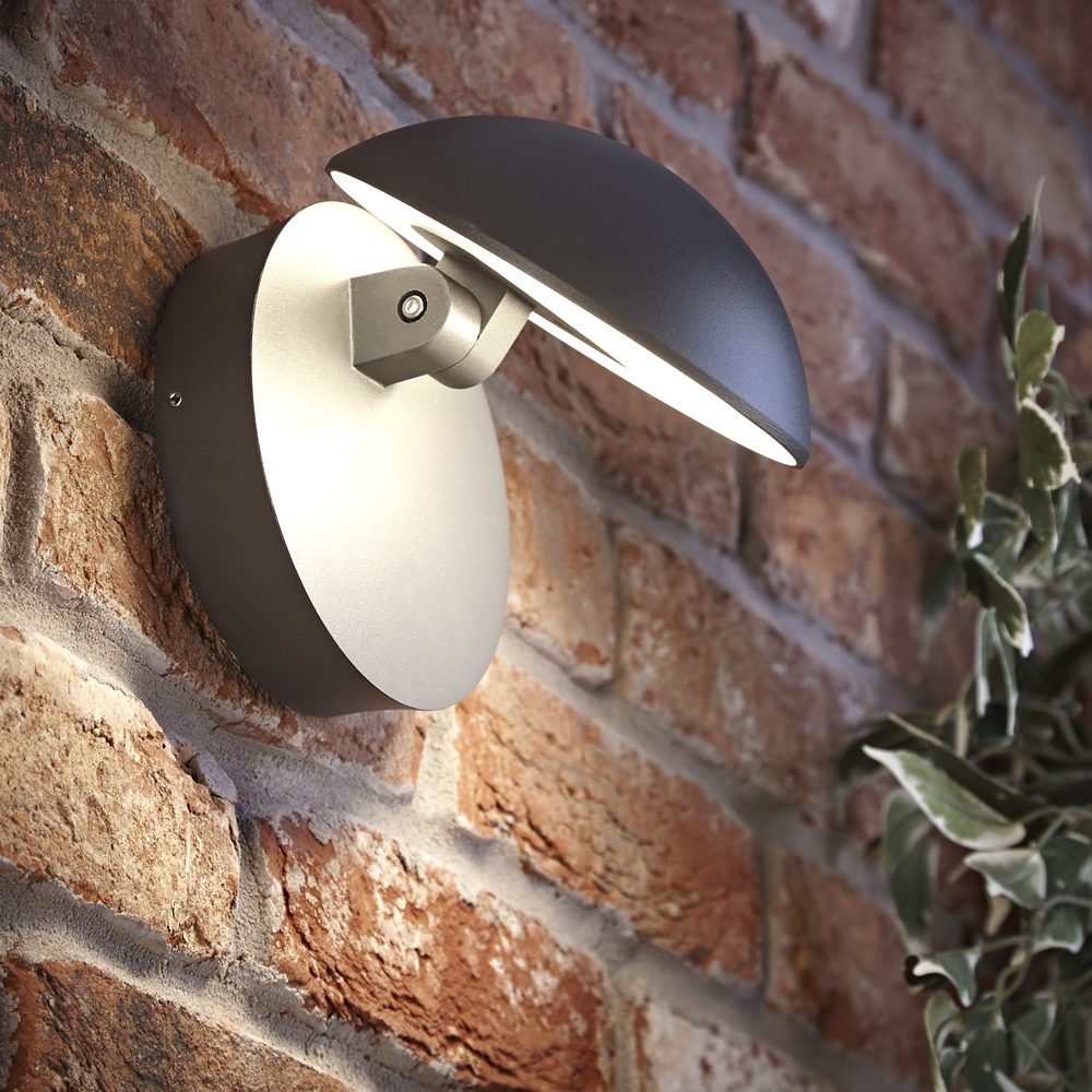 Biard Aplique LED Orientable Antracita - Piombino