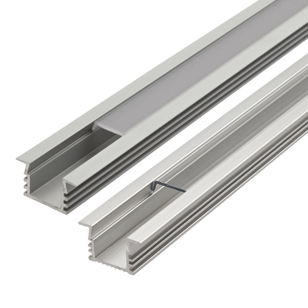 Biard Perfil de Superficie en Aluminio para Tiras LED 100cm