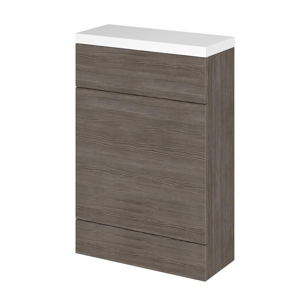 Mueble de WC Gris Marrón de 500mm x 235mm