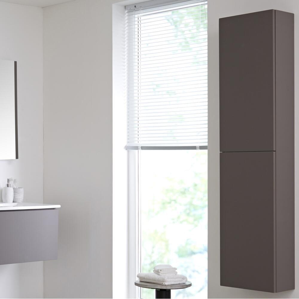 color de pared para armarios grises Armario De Pared De 350x1500mm Para Cuarto De Bao Color Gris Opaco Newington
