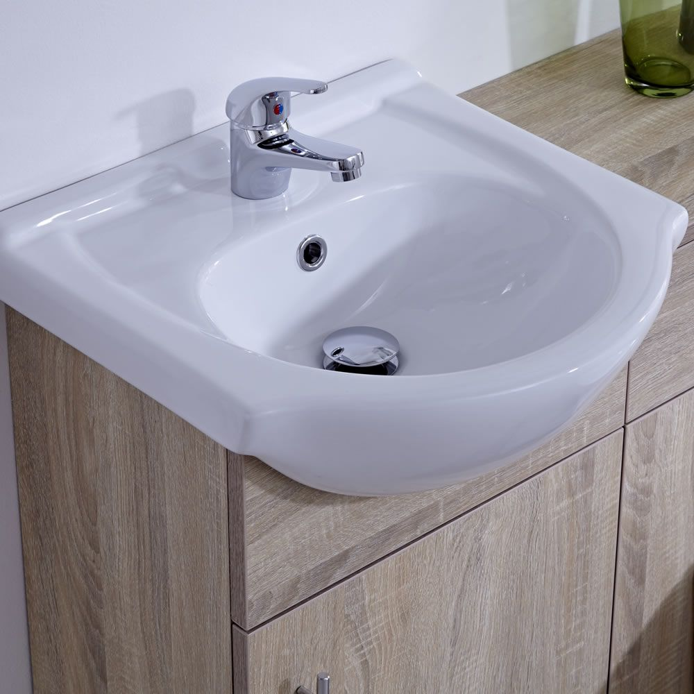 Mueble para Cuarto de Baño con Lavabo e Inodoro de ...