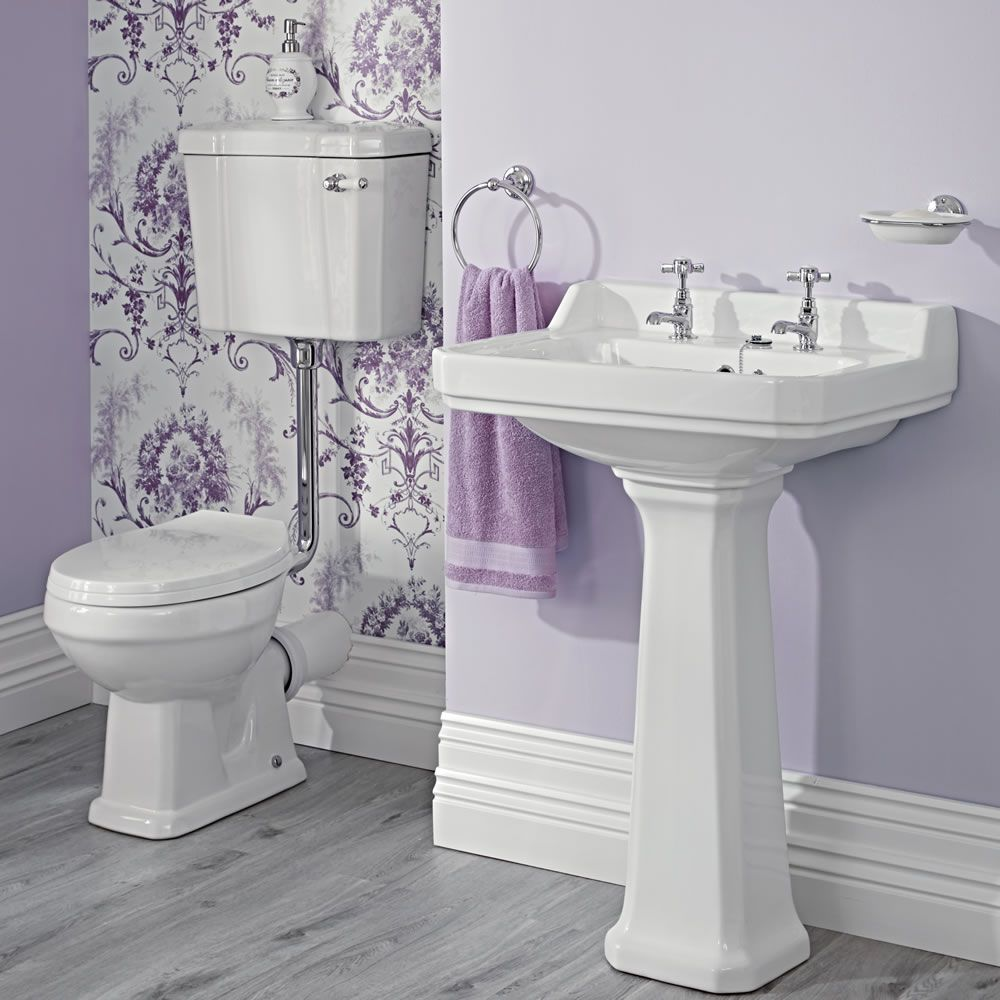 Conjunto de Cuarto de Baño Tradicional Completo Grifería, WC ...