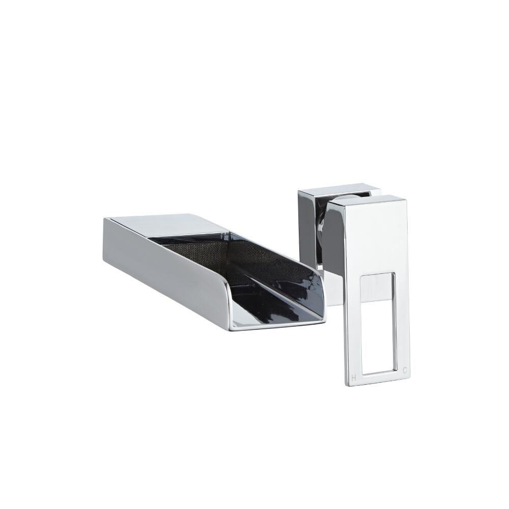 Lavabo sobre encimera rectangular de cer mica 360x360mm for Lavabo sobre encimera rectangular