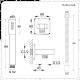 Conjunto de Ducha con Mezclador de Ducha Termostático de 3 Funciones con Desviador, Alcachofa de 2 Funciones y Telefonillo de Color Níquel Cepillado - Aldwick