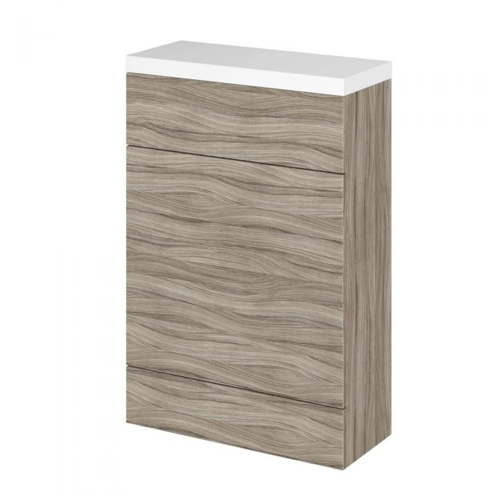 Mueble de WC Wengué de 500mm x 235mm