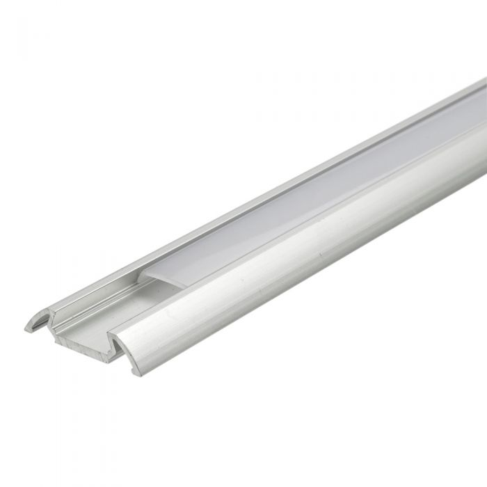 Biard 5 x Perfiles de Superficie para Tiras LED 100cm