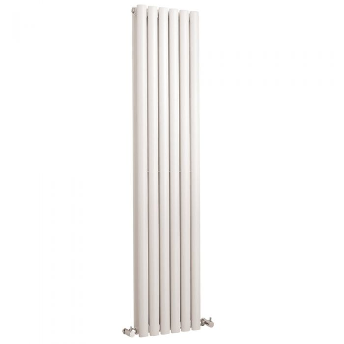 Radiador de Diseño Vertical Doble - Blanco - 1500mm x 354mm x 78mm - 1150 Vatios - Revive