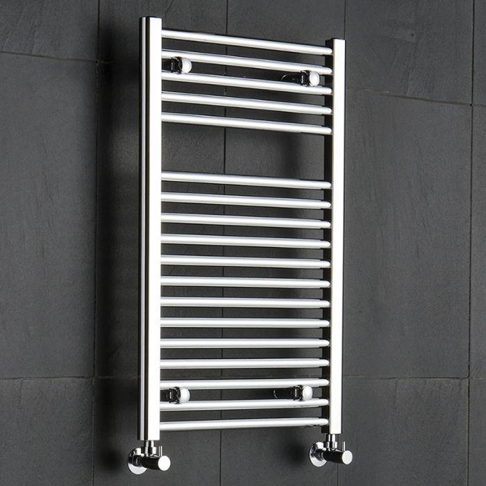 Radiador Toallero Plano - Cromado - 800mm x 500mm x 30mm - 310 Vatios - Sterling