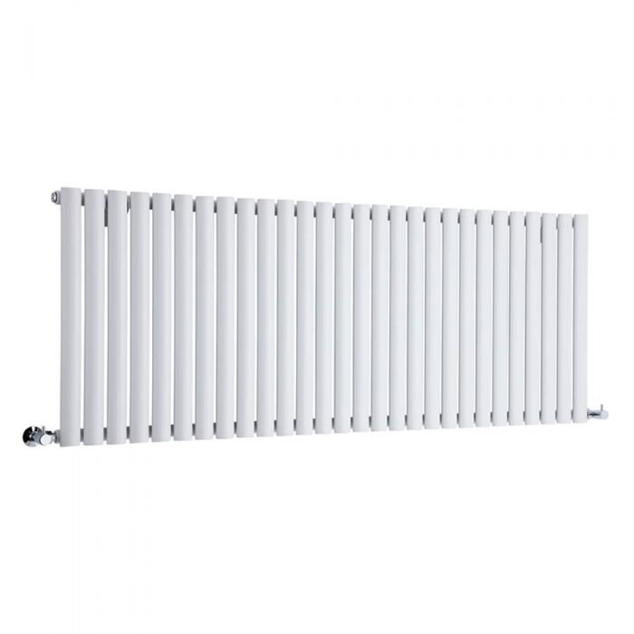 Radiador de Diseño Horizontal - Blanco - 635mm x 1647mm x 56mm - 1671 Vatios - Revive