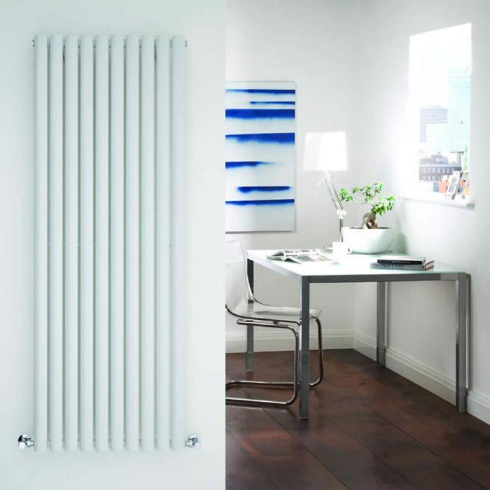 Radiador de Diseño Vertical - Blanco - 1600mm x 590mm x 55mm - 1402 Vatios - Revive