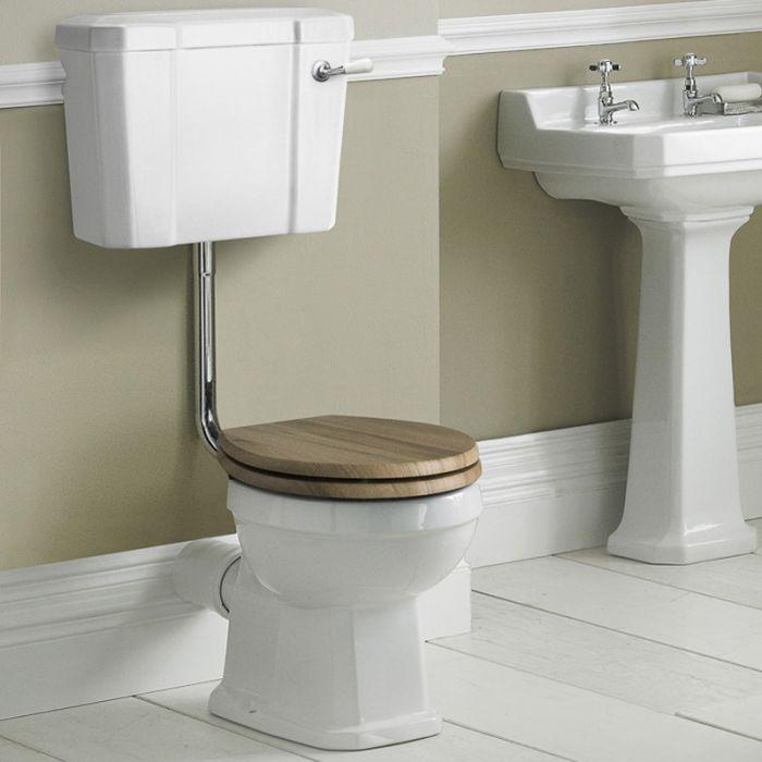 Pack de WC Tradicional con Inodoro de Salida Horizontal Cisterna y Opción de Distintas Tapas de WC