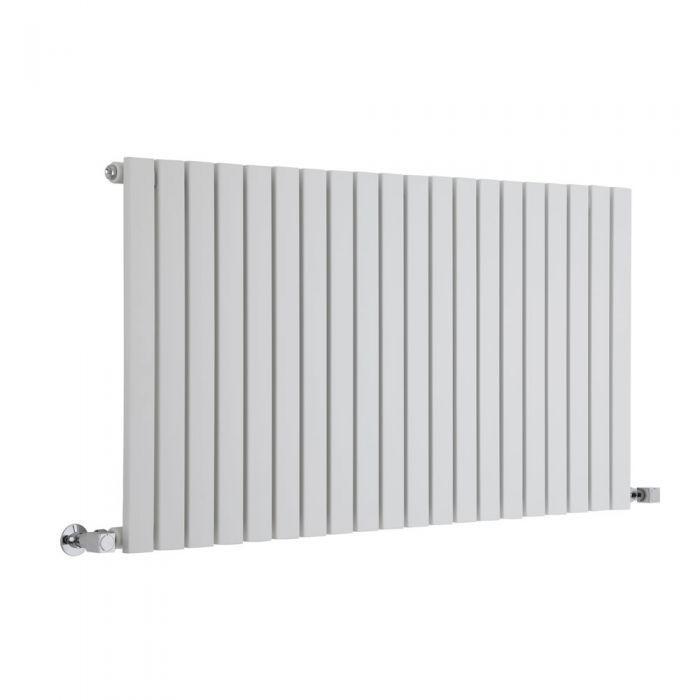 Radiador de Diseño Horizontal - Blanco - 635mm x 1180mm x 54mm - 1202 Vatios - Sloane